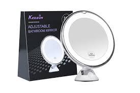 Adjustable Bathroom Mirrors - 11 best vanity makeup mirrors lights 2017 lighted mirrors