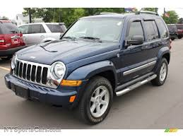 2005 jeep liberty limited 4x4 in patriot blue pearl 503117