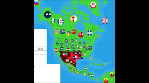 Spanish Map Of North America by Alternate Future Of North America In Countryballs Part 3 Spanish