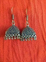 jhumkas earrings metal jhumkas earrings at rs 100 pair ujire bengaluru id