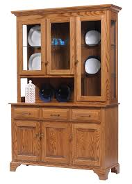 Hutch And Buffet by Americana Amish Chinas And Hutches