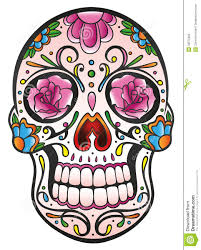 skull sugar skull stock vector illustration of creepy 33575302