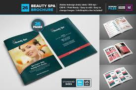 spa brochure template word psd and indesign format karo cruz