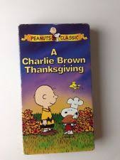a brown thanksgiving vhs 1997 clamshell ebay
