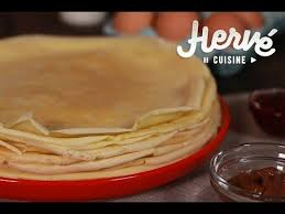 pâte à crêpes la recette inratable d hervé cuisine