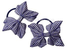 school hair accessories 24 best gingham thick bobbles images on fabric hair