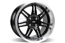 17x10 mustang wheels ford mustang sve dish anniversary wheel 17x10 black with