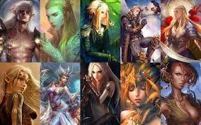 the complete portrait pack of elves the neverwinter vault