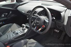 first audi 2016 audi r8 v10 plus interior first drive indian autos blog