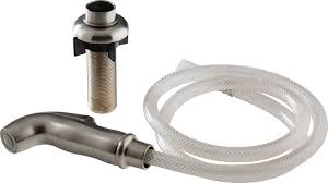 peerless rp54807ss spray hose assembly and spray support peerless rp54807ss spray hose assembly and spray support stainless faucet spray hoses amazon com