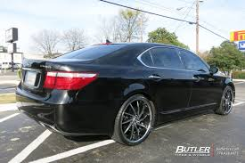 lexus wheels ls 460 lexus ls460 with 22in lexani artemis wheels exclusively from