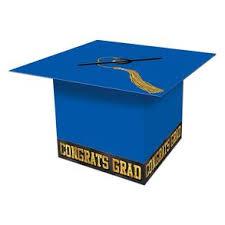 blue graduation cap blue graduation cap card box century novelty