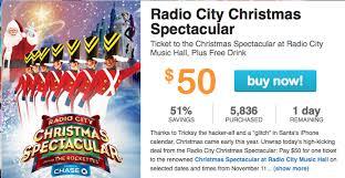 radio city christmas spectacular tickets radio city christmas spectacular discount tickets 51 living
