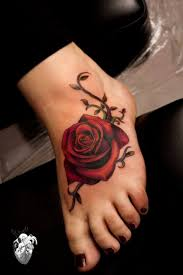best 20 rose foot tattoos ideas on pinterest foot tattoos side