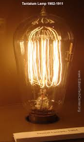 Gas Light Bulbs History Of The Incandescent Light