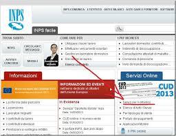 cassetto previdenziale cittadino inps cud 2013 trovarlo e starlo dal sito inps it the dc