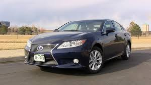 lexus es 350 hybrid review review 2013 lexus es 300h to hybrid or not to hybrid the fast