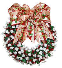 candy wreath joys of christmas candy themed wreaths