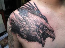neck to shoulder tattoos 52 eagle shoulder tattoos ideas and meanings