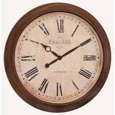 large outdoor indoor antique wall clock