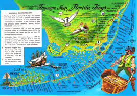 Map Florida Keys by Florida Keys Treasure Map Postcard Available A Photo On Flickriver