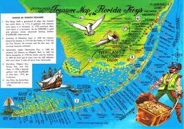 Keys Florida Map by Florida Keys Treasure Map Postcard Available A Photo On Flickriver