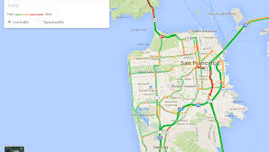 San Francisco Districts Map by San Francisco Traffic Map Michigan Map