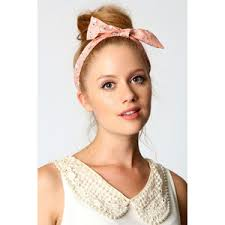 tie headbands janet bird print bow tie stretch headband polyvore