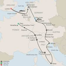 France And Germany Map by Germany Tours Globus Europe Tour Packages