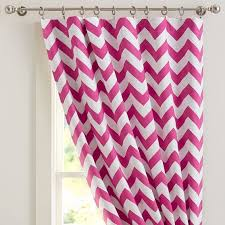 Pink And White Chevron Curtains Great Pink Chevron Curtains And Pink And White Zig Zag Curtains