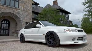 2000 subaru legacy stance twin turbo subaru legacy how jdm can you go tuned youtube