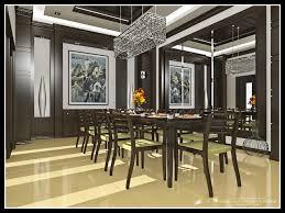 modern burma house dining room with modern asian interior design