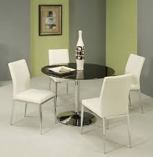 Frosted Glass Dining Room Table Black Glass Dining Room Sets Marceladick Com