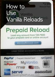 www my vanilla debit card how to use vanilla reloads jpg