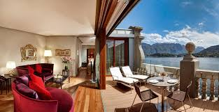 rooftop penthouse prestigious suite in 5 stars hotel on lake como