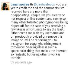email instagram support stolen images pixel ownership unfortunate mentalities what now