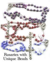 unique rosaries italian rosaries catholic rosary from italy free st