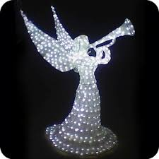 lighted angel christmas decoration outdoor lighted angel yard decorations personalised angel christmas