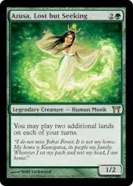 Seeking Card Azusa Lost But Seeking Chions Of Kamigawa Gatherer Magic