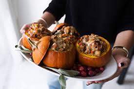 turkey pumpkins ground turkey brown butter filled roasted mini