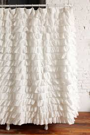interior window accessories exciting white ruffle curtains