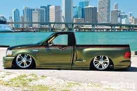 Ford F150 Truck Power Wheels - 2000 ford f 150 svt lightning slammed svt truckin magazine