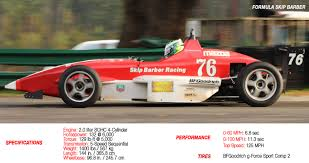 formula mazda cars skip barber racing