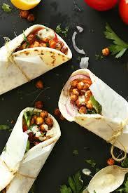 Mediterranean Vegan Kitchen - chickpea shawarma sandwich minimalist baker recipes