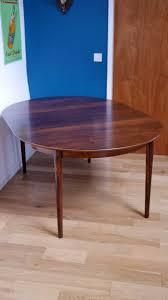 Table En Verre Avec Rallonges by Table à Repas Vintage Sibast En Palissandre Avec Rallonges Borge