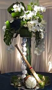 themed centerpieces for weddings diy baseball wedding table centerpiece ideas surprisingly