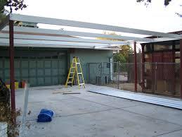 simple lean to carport 21 u0027x22 u0027 san antonio texas carport patio