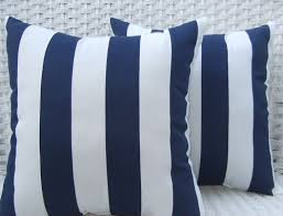 Navy Blue Decorative Pillows Amazon Com Set Of 2 Indoor Outdoor 20