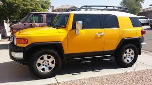 yellow toyota 2007 yellow fj cruiser