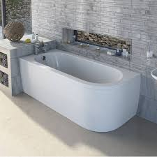cayman d shaped back to wall corner bath panel lh now only 69 99